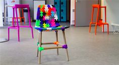 Over 70 makers collaborate to create the 3D printed Maker Chair
