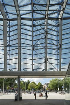 Rotterdam Central Station / Benthem Crouwel Architects + MVSA Architects + West 8