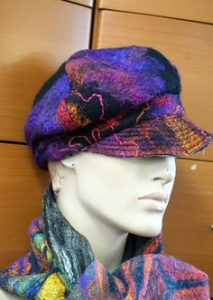 105.19$  Watch here - http://viwtn.justgood.pw/vig/item.php?t=arut8147502 - CAP FELTED HAT MADE IN EUROPE ART TO WEAR ORGANIC WOOL WOMEN HOLIDAY GIFT IDEA 105.19$