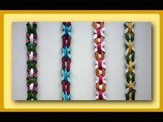 Плетение полосок из бумаги - Часть 1 / Weave the strips of paper tubes - Part 1 - YouTube