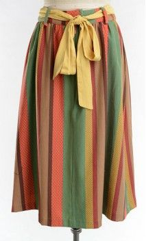 Dorothy . A bohemian look skirt and a gorgeous bow detail.