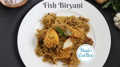 Simple and easy fish biryani recipe. biryani home cooking Fish Biryani, Best Fish Recipes, Biryani Recipe, Sliced Tomato, Chapati, Recipe Steps, Curry Leaves, Just Cooking, Garam Masala