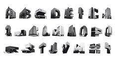 Na Koolhand is er nu ook het Slotervaart Alphabet. Het grafisch ontwerpbureau Studio GloriusVandeVen besloot de gebouwen in de beruchte Amsterdamse wijk te vangen in letters. bron + beelden: Studio GloriusVandeVen