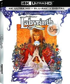 Watch the trailer for the Labyrinth: 30th Anniversary 4K Blu-ray | Live for…