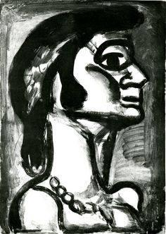 Georges Rouault ~ on lips that were fresh