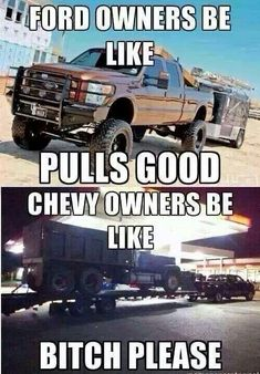 Chevy vs. Ford