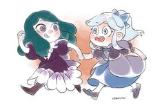 """oceaniespainting: """"""""Where are we going?Eclipsa and kid!Moon I am not sure if they would be friends,but I think that would be cute:) """" Disney Actual, Evil Disney, Disney And More, Starco, Queen Eclipsa, Gravity Falls, Pixar Movies, Star Butterfly, Star Vs The Forces Of Evil"""