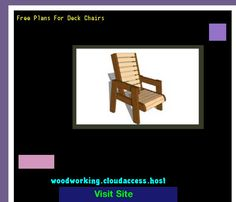 Free Plans For Deck Chairs 225651 - Woodworking Plans and Projects!