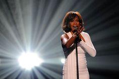 Singing superstar Whitney Houston