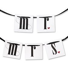 Mr. and Mrs. Chair Banners   http://www.savedateevents.carlsoncraft.com