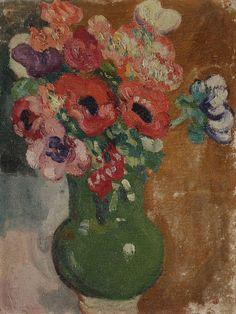 Lot : Louis VALTAT (1869-1952) - Vase de fleurs, vers 1913 - Huile sur carton. -[...] | Dans la vente Tableaux Modernes à Ader