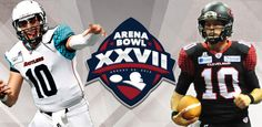Arena Bowl XXVII August 23, 2014 AZ Rattlers vs. Cleveland Gladiators  We are there
