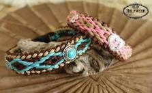 Dog Birthday, Birthday Ideas, Bracelets, Jewelry, Pink, Paracord Dog Leash, Native Americans, Braid, Linen Fabric