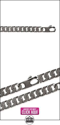 Mary Jane–Cadena Plata Hombre–Long: 55cm/Larg: 10mm–Plata 925/000  ✿ Joyas para hombres especiales - lujo ✿ ▬► Ver oferta: https://comprar.io/goto/B00W57GK6O