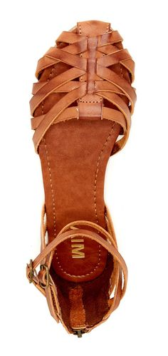 #Braided #leather #sandals More