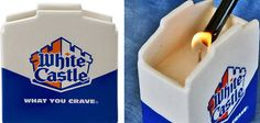 White Castle Hamburger-scented candle