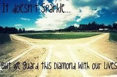It don't sparkle but diamonds are my best friends