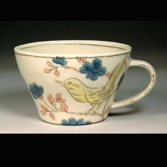 lovely teacup by ceramicist Molly Hatch