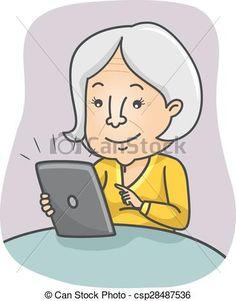 Great Grandmother Clip Art Clipart Panda Free Images | Cartoon ...