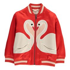 Willow Swan Bomber Jacket-product