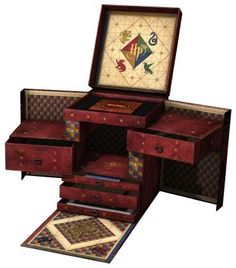 31-disc Harry Potter box set. So impressive AND the box is cool.