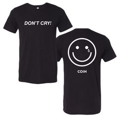 Nerd Merch, Dont Cry, Crying, Tees, Mens Tops, T Shirt, Outfits, Clothes, Shopping