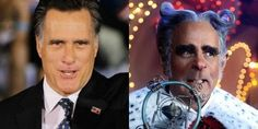 OMG I KNEW HE LOOKED FAMILIAR Not sure why Romney wants to be the President of the United States when he's already the mayor of Whoville though. I would much rather be the mayor of Whoville. Mayor Of Whoville, I Smile, Make Me Smile, Jesse Ventura, College Humor, Tumblr, I Love To Laugh, Laughing So Hard, Funny Cute