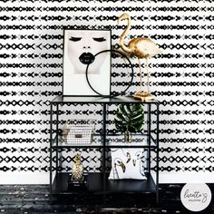 Visit our site to see all of our Urban Jungle inspired wallpapers! Black & white chic might be the best way to describe this collection. Though, custom colors are available as well! Herringbone Wallpaper, Chevron Wallpaper, Fabric Wallpaper, Scandinavian Wallpaper, Scandinavian Design, Temporary Wallpaper, Box Patterns, Wallpaper Paste, Traditional Wallpaper