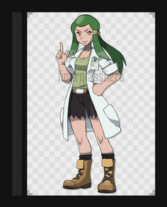 Professor Lin Sequoia by HourglassHero on DeviantArt Pokemon Rpg, 151 Pokemon, Pokemon Games, Pokemon Stuff, Pokemon Fusion, Character Poses, Character Art, Character Design, Female Trainers