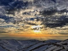 A picture i took from mount Hermon (Israel) a few days ago at sunset [OC] landscape Nature Photos Some Beautiful Pictures, Amazing Pics, Life Is Beautiful, Cool Pictures, Mount Hermon, Visit Israel, Israel Travel, Israel Trip, Above The Clouds