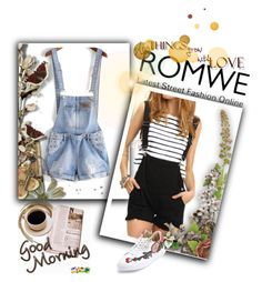 """ROMWE # 8"" by begicdamir ❤ liked on Polyvore"