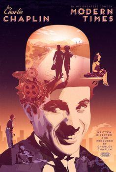 Modern Times - movie poster - Pete Lloyd