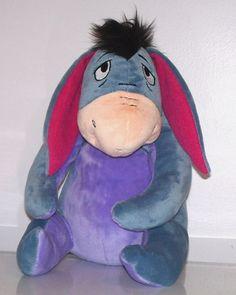 "Disney Eeyore 11"" Plush Kohl's Cares for Kids Donkey Stuffed Winnie the Pooh"