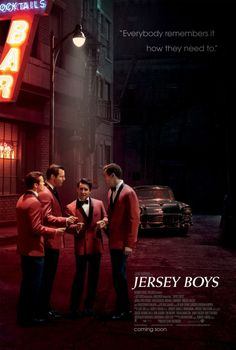 Jersey Boys (2014) Adapted from the hit Broadway musical, this nostalgic look at the Four Seasons and their bumpy offstage lives stretches across four decades. Each of the musical act's four original members presents a different set of memories from their shared past. John Lloyd Young, Erich Bergen, Michael Lomenda...TS bio