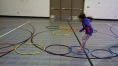 Here are 10 New Hula hoop activities for kids! Hula hoops are a great way to engage and focus on large motor skills with kids! Use these activities today!