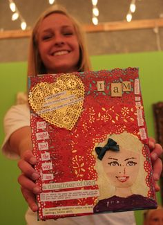 """Brave Girls Club   """"I Am"""" crafts. LOVE this for respect my self and courage building!"""