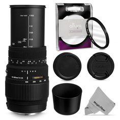 Sigma 70-300mm f/4-5.6 DG Macro Lens for Nikon D800 D750 D700 D610 D600 DSLR