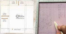 Comment fabriquer une enveloppe boîte - Cool à Souhait Presents, Envelopes, Inspiration, Decoration, Table, Diy, Template, Bricolage Noel, Gifts