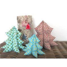 Weihnachtsbäumchen, Kreativ-Ebook als Geschenk - farbenmix Online-Shop - Schnittmuster, Anleitungen zum Nähen
