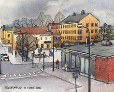 Telefonplan, Stockholm | por nina drawing