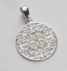 Southern Gates sterling pendant