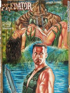 Movie poster for movie Predator from Ghana.
