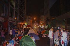 Jóvenes acampan para denunciar recortes en el Plan Progresar - Agencia Universitaria de Noticias y Opinión