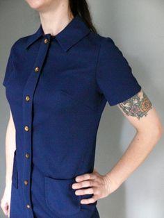 S O L D ! Vintage 1960s Mod Scooter Dress by LonePony via Etsy