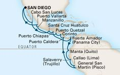 Map of 30-DAY INCAN EMPIRES Cruise