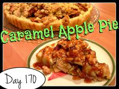 Caramel Apple Pie Recipe [DAY 170] ★ watch the video: https://www.youtube.com/watch?v=rpqgRTB2j20&index=33&list=PLGRnDhMJALhH_GXl20Kx5lraCMUd2ltq1 ★  I'm trying A NEW RECIPE OF Laura in the Kitchen EVERY DAY and sharing its conversion into the metric system, come and join me on my yummy challenge! :)