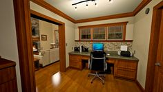 This is built in home office/workstation featured in Plan 1180. You can see more on it on our website.