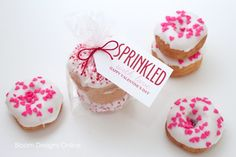 Sprinkled Donuts for