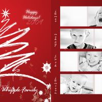 How to Design a Photo-Collage Holiday Card in Photoshop