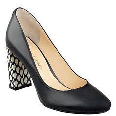 Little Black Shoes Filipa Leather Pumps by Ivanka Trump